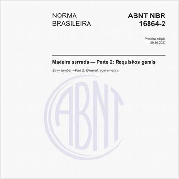 NBR16864-2 de 10/2020