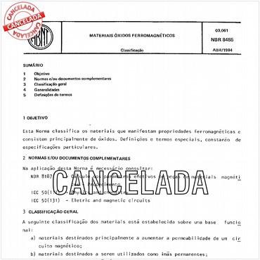 NBR8455 de 04/1984