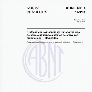 NBR16913 de 12/2020