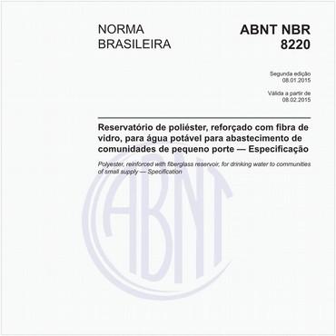 NBR8220 de 01/2015