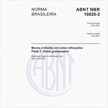 NBR16920-2 de 01/2021
