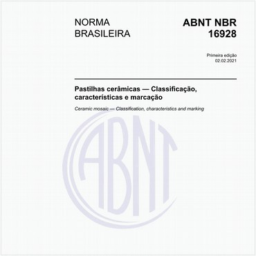 NBR16928 de 02/2021