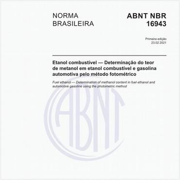 NBR16943 de 02/2021