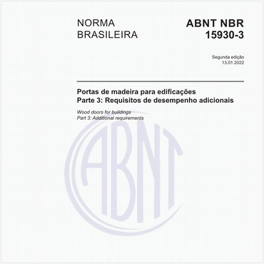 NBR15930-3 de 05/2021