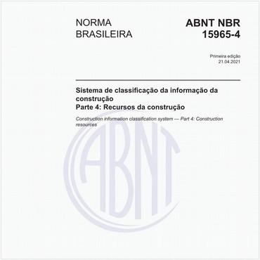 NBR15965-4 de 04/2021