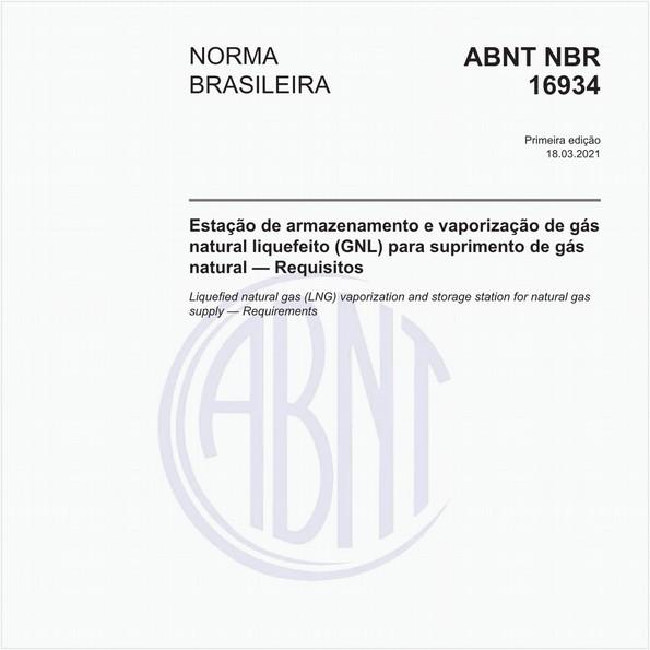 Estação de armazenamento e vaporização de gás natural liquefeito (GNL) para suprimento de gás natural - Requisitos