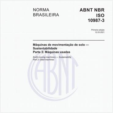 NBRISO10987-3 de 03/2021