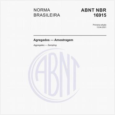 NBR16915 de 04/2021