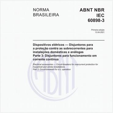 NBRIEC60898-3 de 04/2021