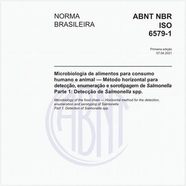 NBRISO6579-1 de 04/2021