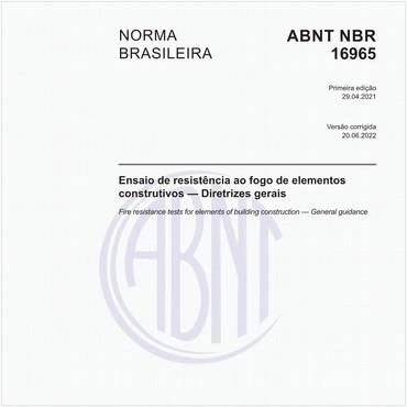 NBR16965 de 04/2021