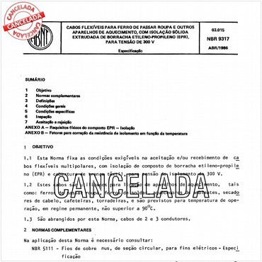 NBR9317 de 04/1986