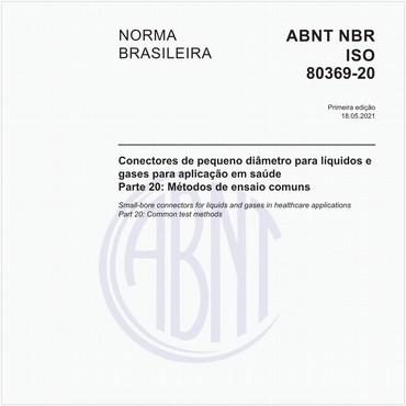 NBRISO80369-20 de 05/2021