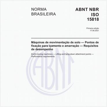 NBRISO15818 de 06/2021