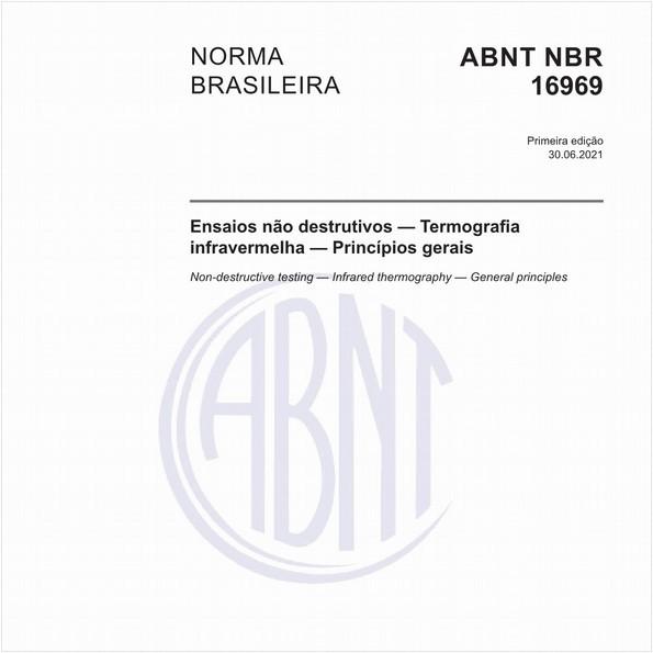 Ensaios não destrutivos - Termografia infravermelha - Princípios gerais