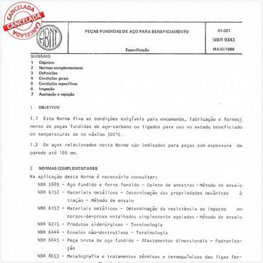 NBR9343 de 05/1986