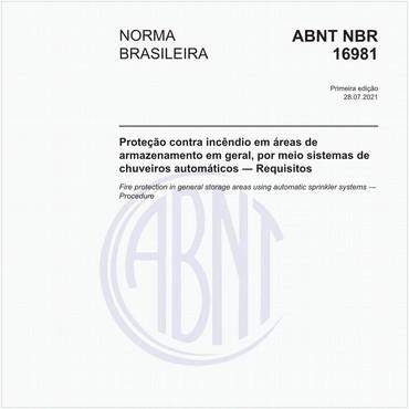 NBR16981 de 07/2021