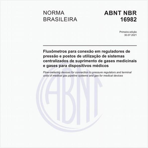 Fluxômetros para conexão em reguladores de pressão e postos de utilização de sistemas centralizados de suprimento de gases medicinais e gases para dispositivos médicos