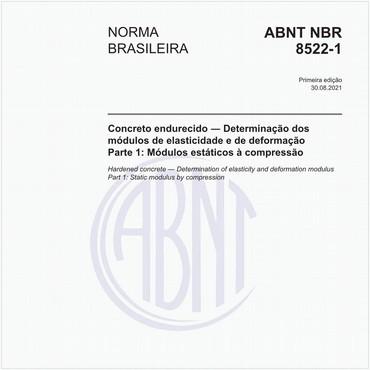 NBR8522-1 de 08/2021