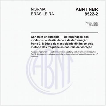 NBR8522-2 de 08/2021