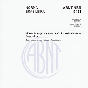 NBR9491 de 11/2015