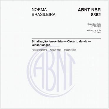 NBR8362 de 09/2012