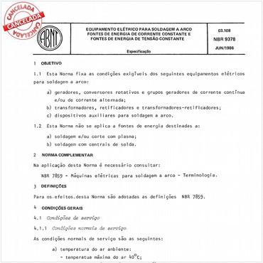 NBR9378 de 06/1986