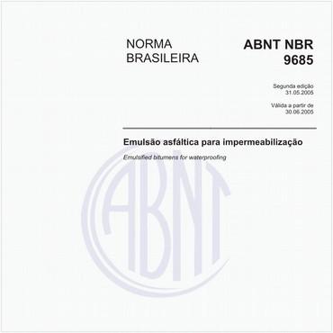 NBR9685 de 05/2005