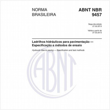 NBR9457 de 02/2013