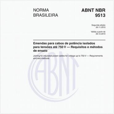 NBR9513 de 11/2010