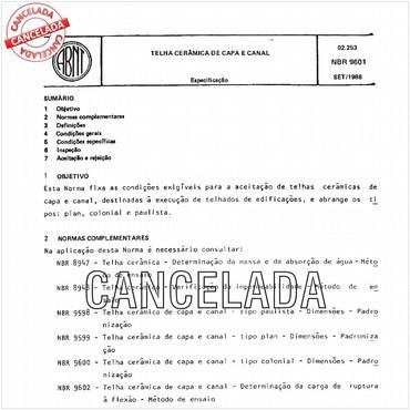 NBR9601 de 09/1986