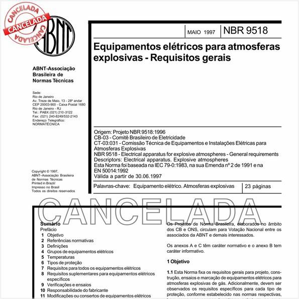 NBR9518 de 12/2006