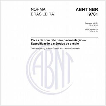 NBR9781 de 01/2013