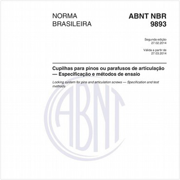 NBR9893 de 02/2014