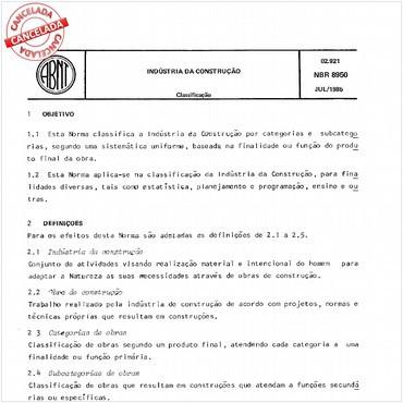 NBR8950 de 07/1985