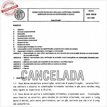 NBR10019 de 09/1987