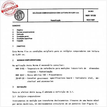 NBR10125 de 11/1987