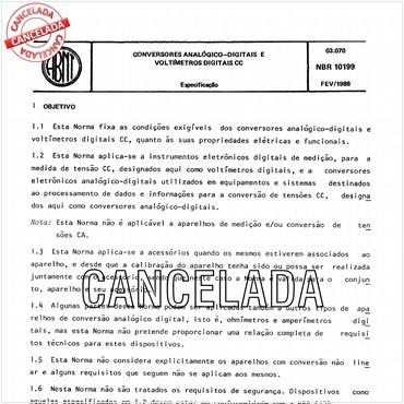 NBR10199 de 02/1988