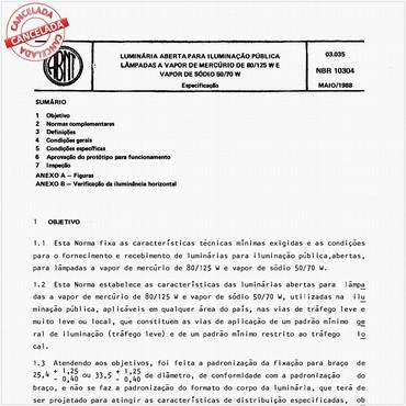 NBR10304 de 05/1988
