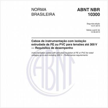 NBR10300 de 07/2013
