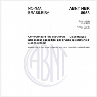 NBR8953 de 01/2015