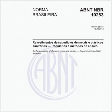 NBR10283 de 11/2018