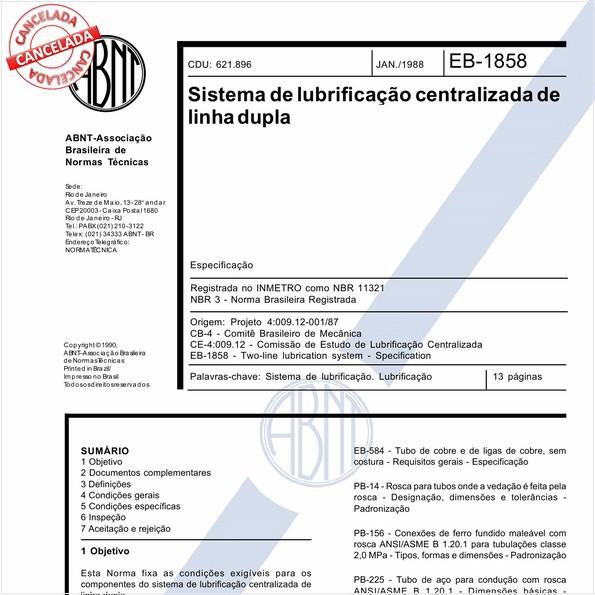 Sistema de lubrificação centralizada de linha dupla