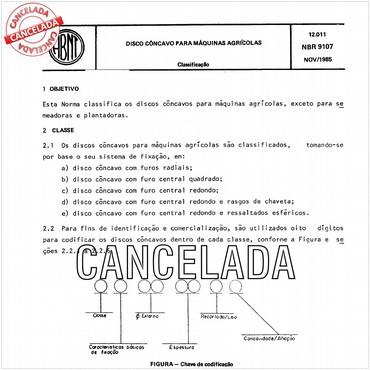 NBR9107 de 11/1985