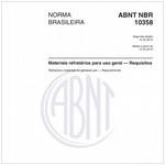 NBR10358