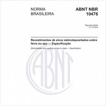 NBR10476 de 10/2016