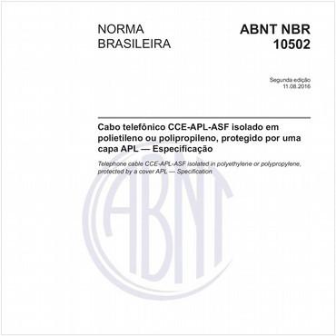 NBR10502 de 08/2016