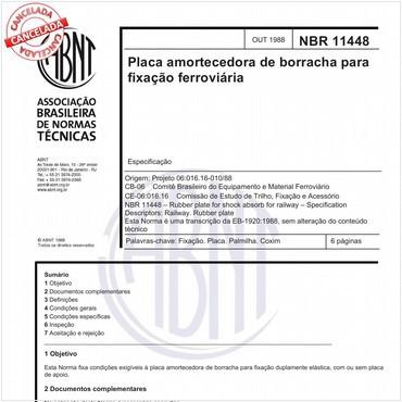 NBR11448 de 10/1988