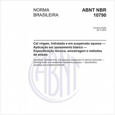 NBR10790 de 11/2016