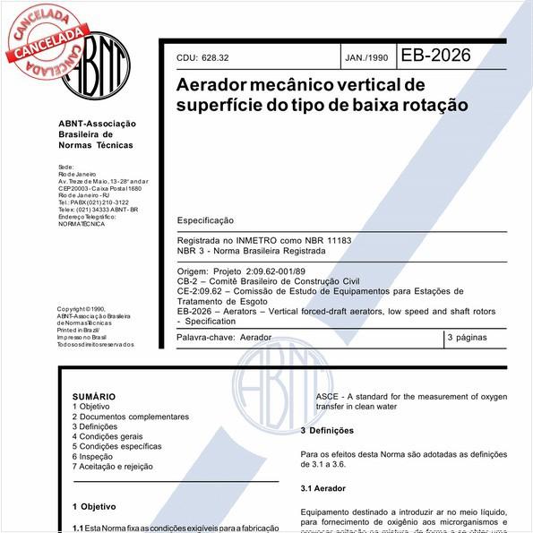NBR11183 de 10/2017